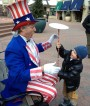 Uncle Sam walkaround denver